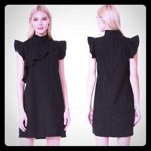 McQuire Denim linen night out dress